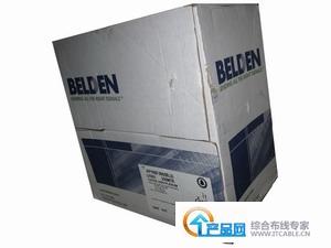 百通BELDENCDT超五类线(305米)蓝色工程线AP1690