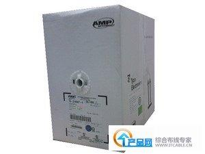 安普AMP黑色超五类网线219507-4