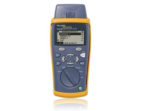 【福禄克】Fluke CableIQ电缆鉴定测试仪(CIQ-100,CIQ-KIT,CIQ-SVC)