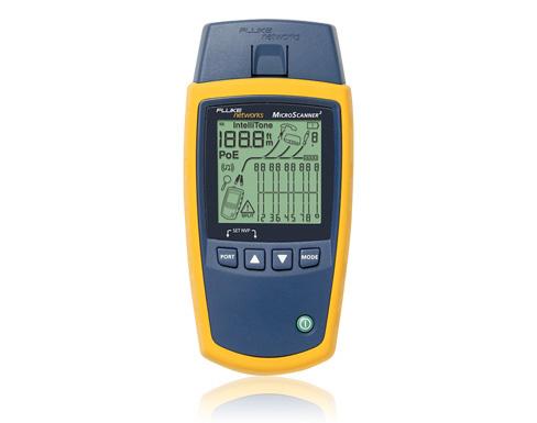 【福禄克】Fluke MS2-100电缆验测仪MicroScanner2 (MS2-KIT,MS2-TTK)