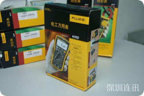 Fluke 117C 福禄克非接触式电压测量万用表