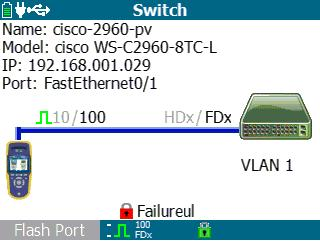 福禄克Linkrunner at 802.1x authentication