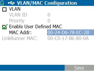 fluke 802.1x authentication