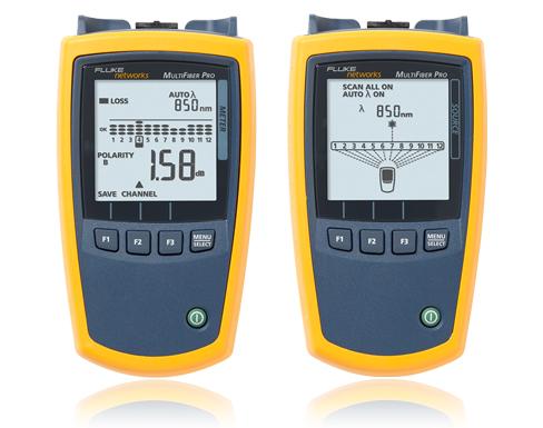 【福禄克】Fluke MultiFiber Pro 光功率计及光纤测试工具包(MFTK1200,MFTK1400)