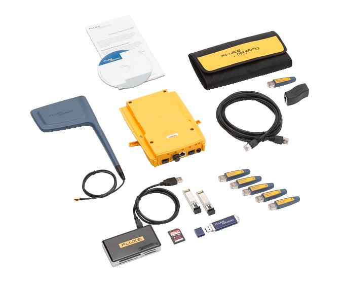 【福禄克】Fluke 1T-3000-MOD 铜/光纤 LAN、Wi-Fi、数据包捕获和高级测试选件Onetouch AT