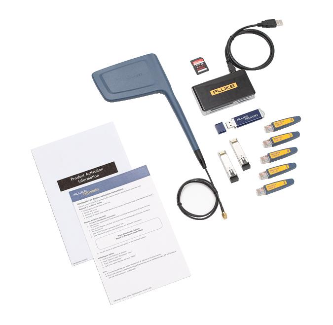 【福禄克】Fluke 1T-WLAN-CAPADV-OPT无线和性能测试选件Onetouch AT