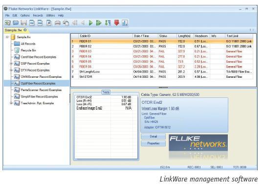 福禄克LinkWare数据管理软件