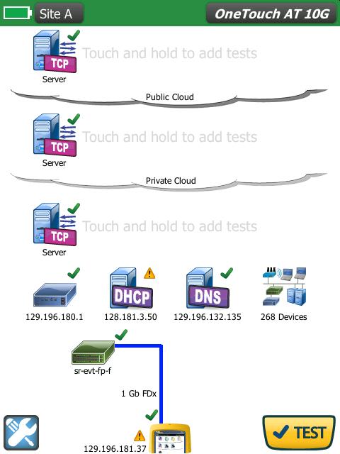 福禄克 1T10G-1000 网络测试仪