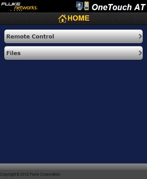 福禄克1T10G-1000远程控制和访问文件