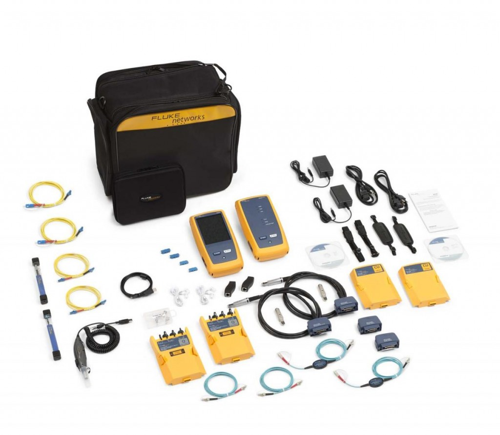 【福禄克】Fluke DSX-5000QOi Cable/ QUAD OTDR & Fiber Inspection测试仪