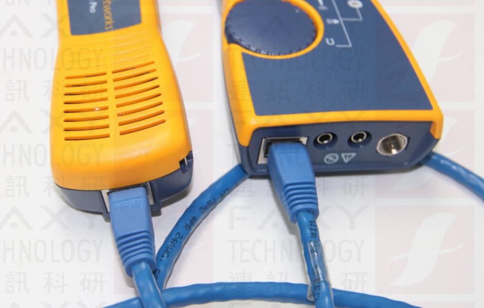 FLUKE测线仪测试线缆接口